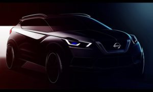 Nissan Kicks Sketch