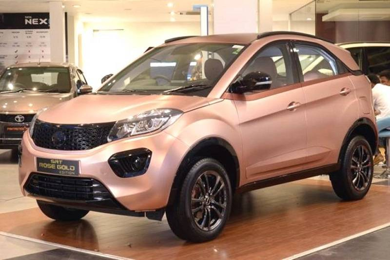 Tata Nexon Rose Gold Edition Price