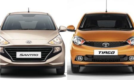 2018 Hyundai Santro Vs Tata Tiago