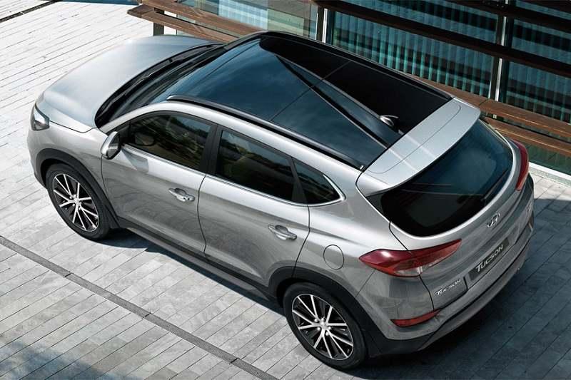 2018 Hyundai Tucson Sunroof