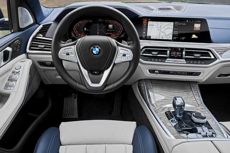 2019 BMW X7 India Interior