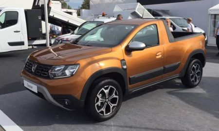 2019 Renault Duster Based Pickup (1)