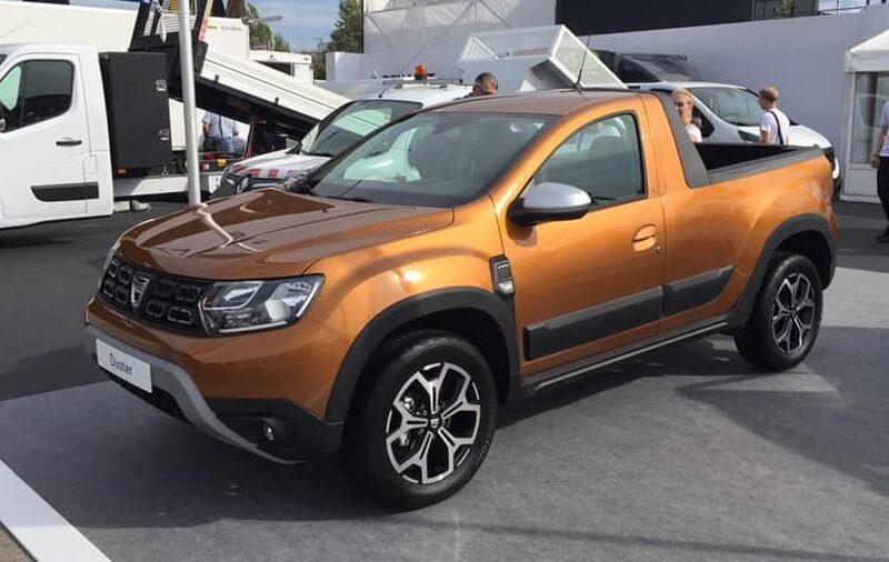 2019 Renault Duster Based Pickup (1)