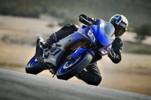 2019 Yamaha R3 Blue