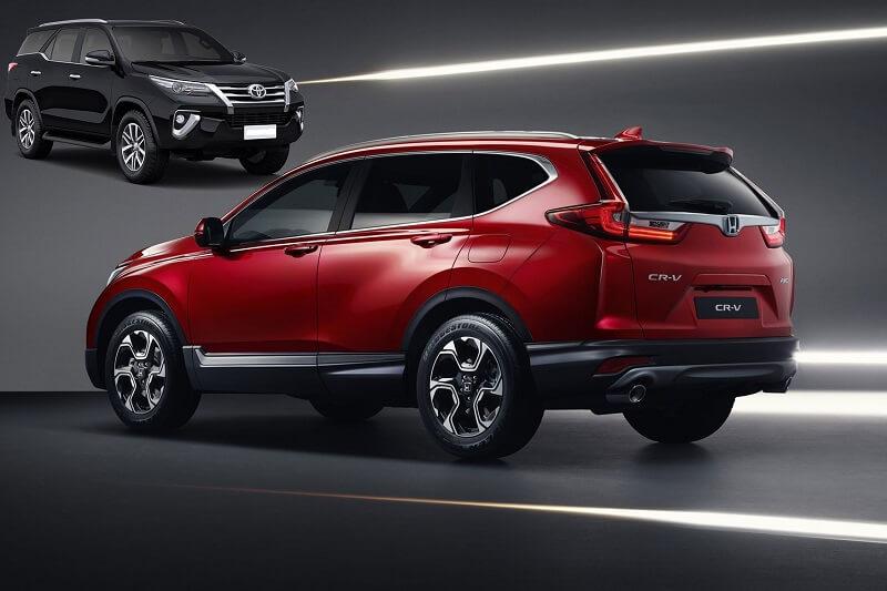 Honda CRV Vs Toyota Fortuner