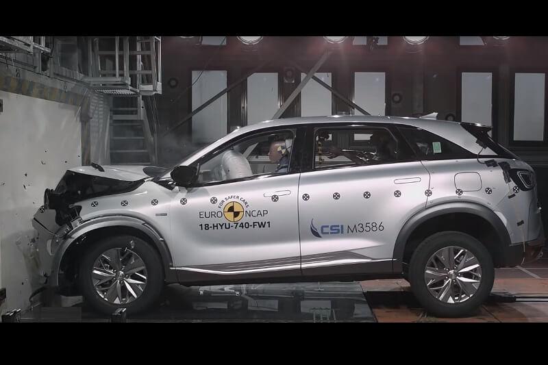 Hyundai Nexo Euro NCAP
