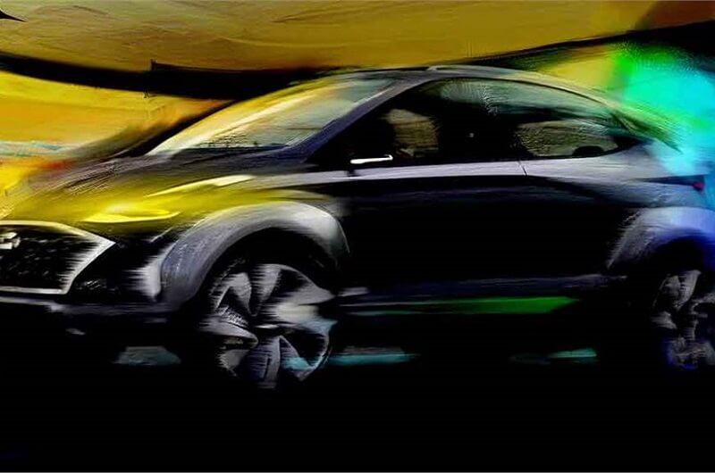Hyundai Saga SUV Concept Teaser