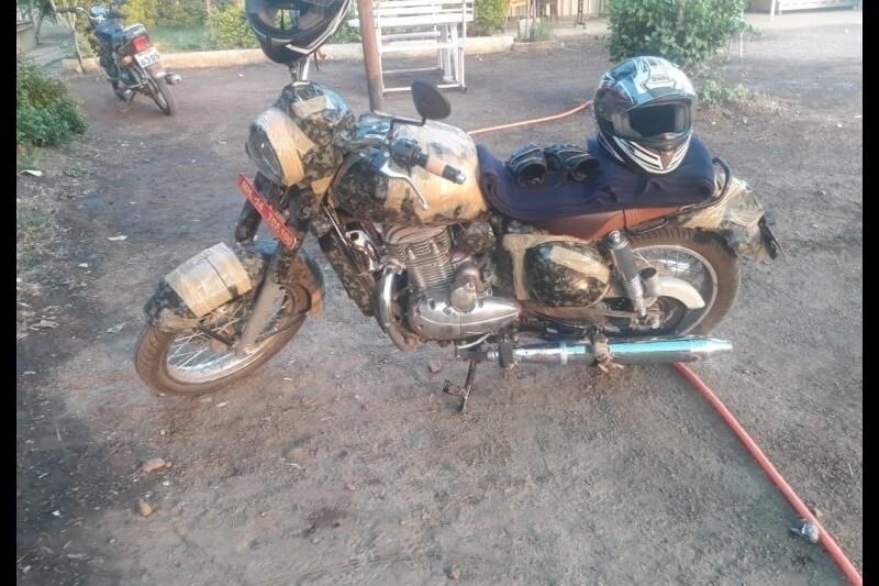 Jawa 300 Classic Spied