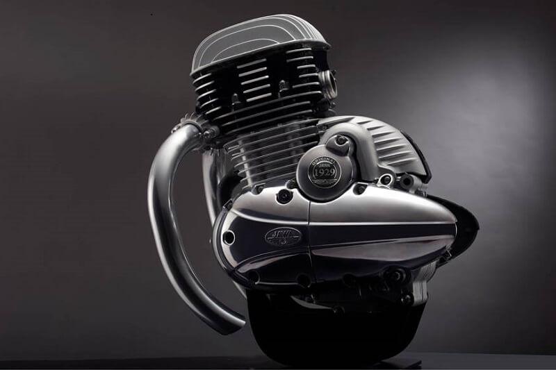 Mahindra Jawa Bike Engine