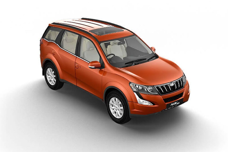 Mahindra XUV500 Top View