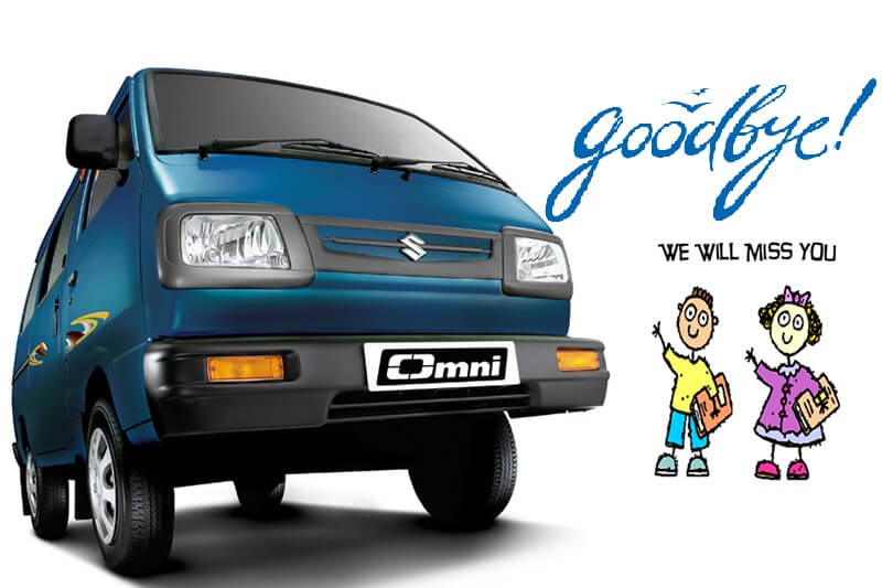 Maruti Omni Discontinued