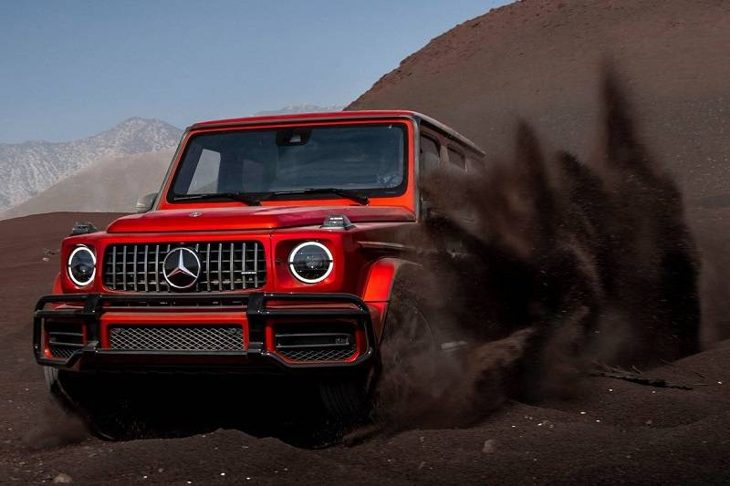 Mercedes AMG G63 India Specifications