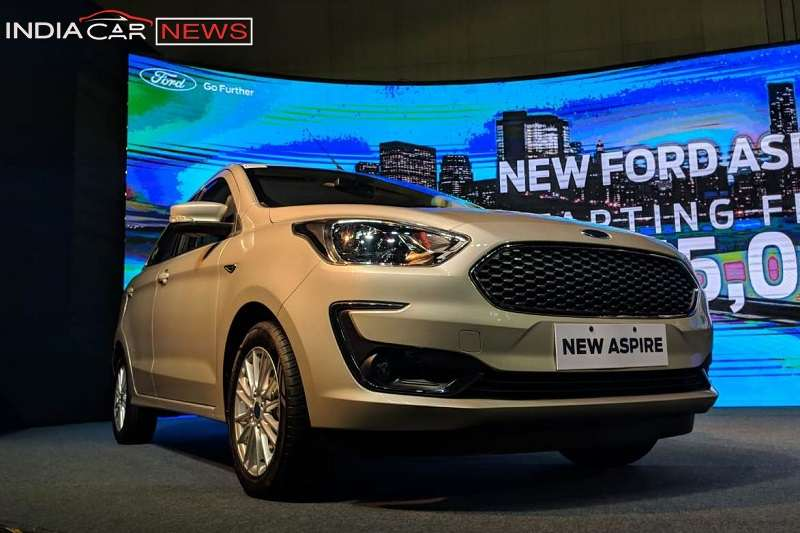 New Ford Aspire 2018 Specifications