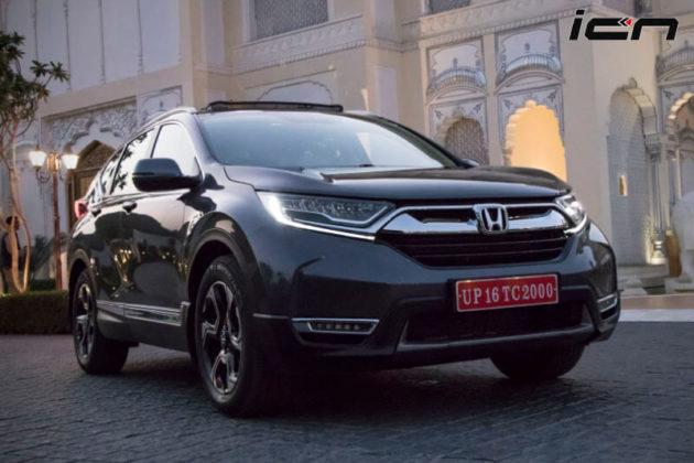 New Honda CRV 2018 Price In India