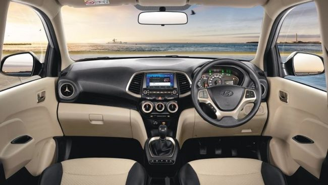 New Hyundai Santro 2018 Interior