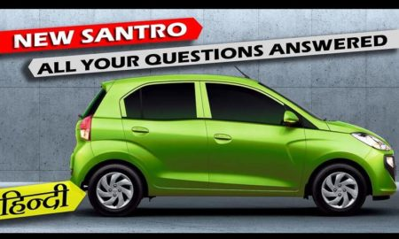 New Hyundai Santro 2018 review