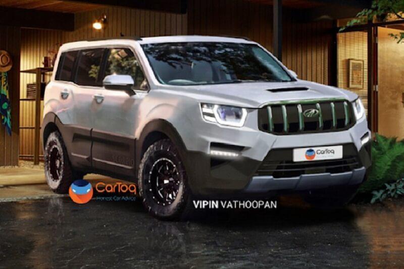 New Mahindra Scorpio 2020 Rendering