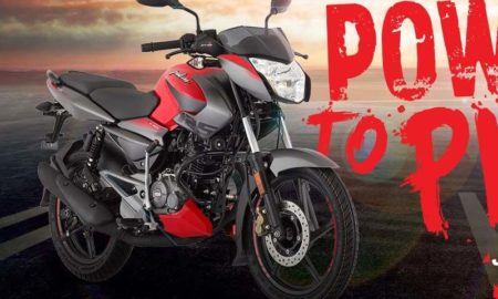 New Pulsar NS 125 Red