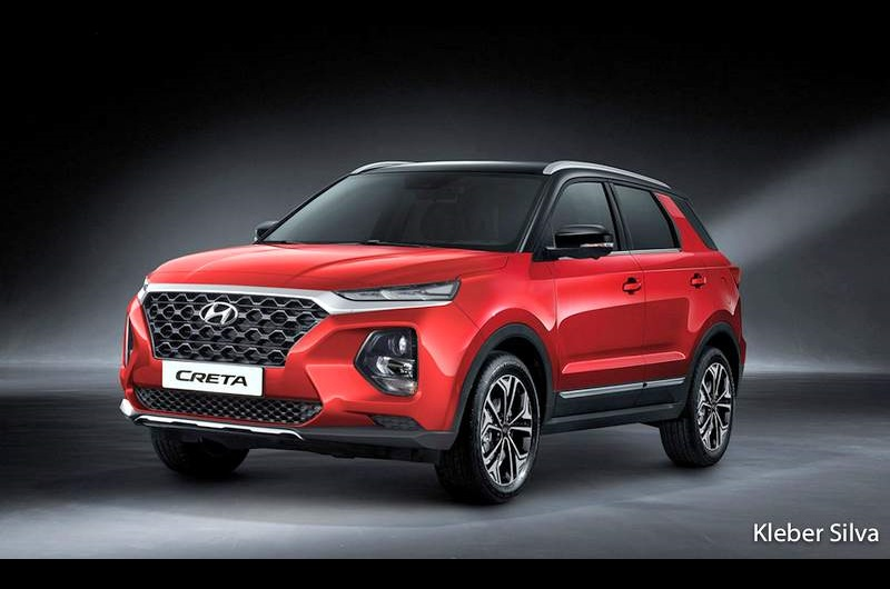 Next-gen Hyundai Creta Rendered