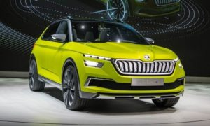Skoda Vision X Concept Front