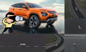 Tata Harrier Handling Test