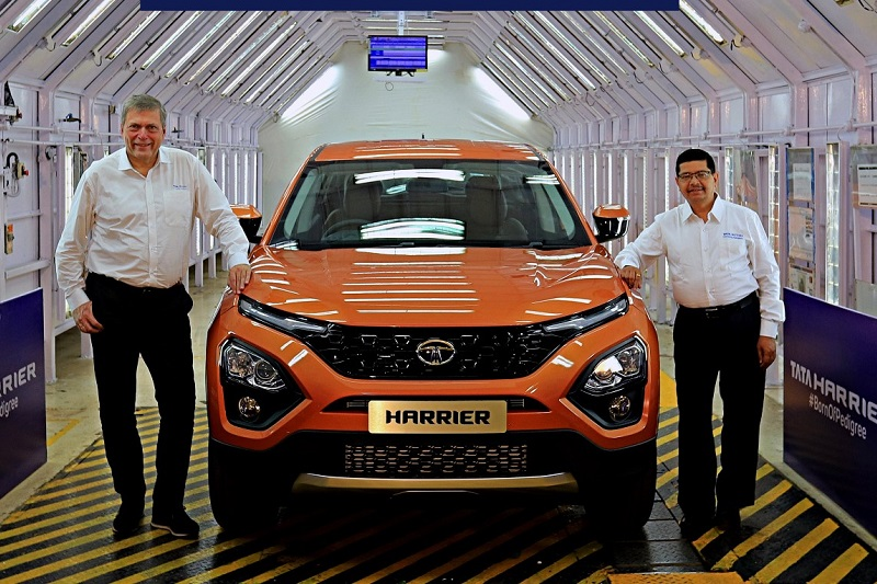 Tata Harrier Official Pic