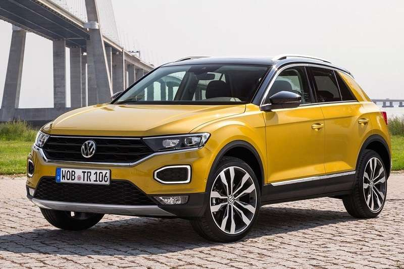 volkswagen t cross compact suv teased global debut on. Black Bedroom Furniture Sets. Home Design Ideas