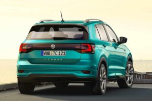 Volkswagen T-Cross Unveiled rear