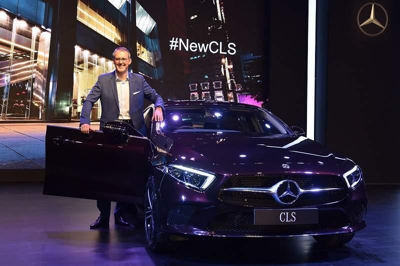 2018 Mercedes Benz CLS India