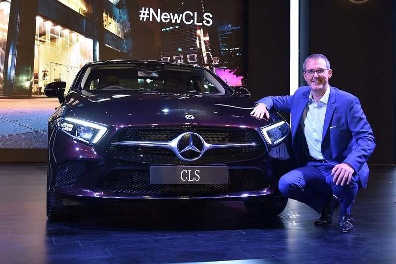 2018 Mercedes CLS India