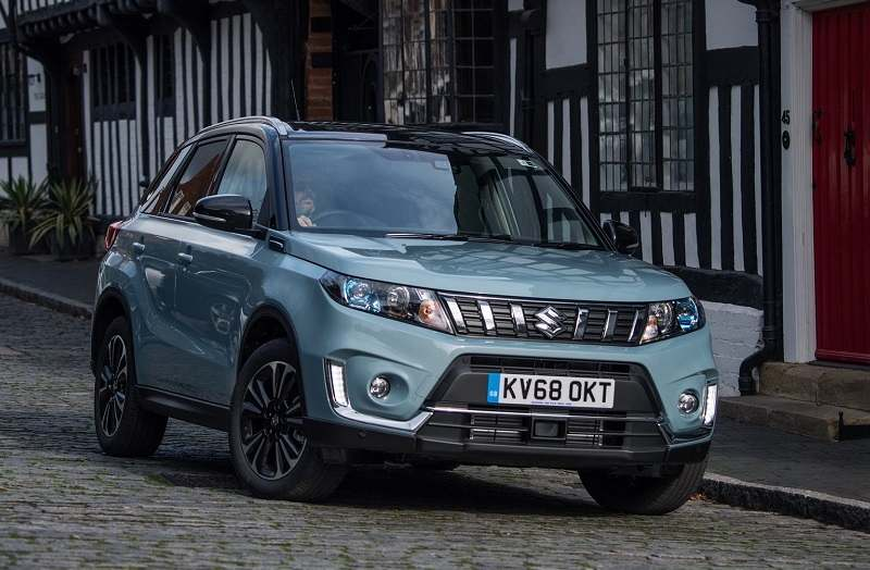 2019 suzuki vitara suv revealed with new engines and more features. Black Bedroom Furniture Sets. Home Design Ideas