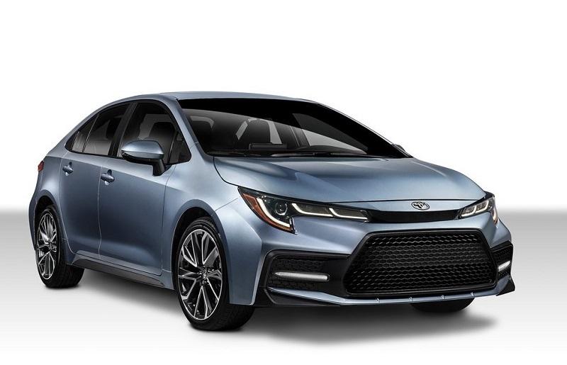2020 Toyota Corolla Sedan Front
