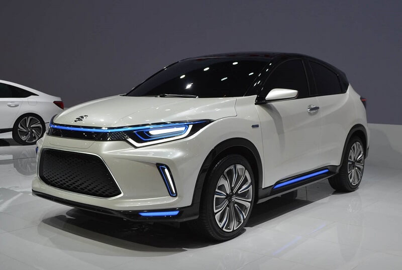Honda hr v based electric suv revealed will it come to for Honda hr v review
