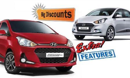 Hyundai Grand 10 Xcent Discounts