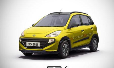 Hyundai Santro Cross Rendering