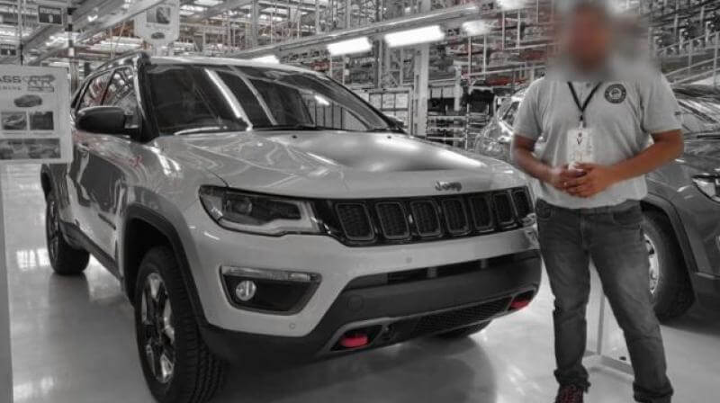 Jeep Compass Trailhawk Leaked