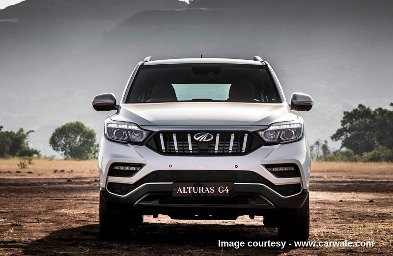 New 4 Wheelers >> Mahindra Alturas G4 Looks Premium In Wild - Pictures and Details