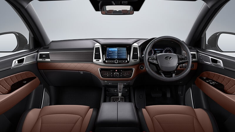 Mahindra Alturas G4 Interior Fully Revealed New Pictures