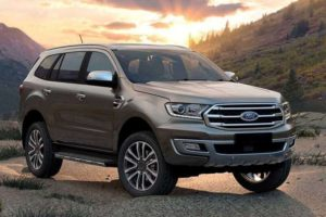 New Ford Endeavour 2019 SUV India