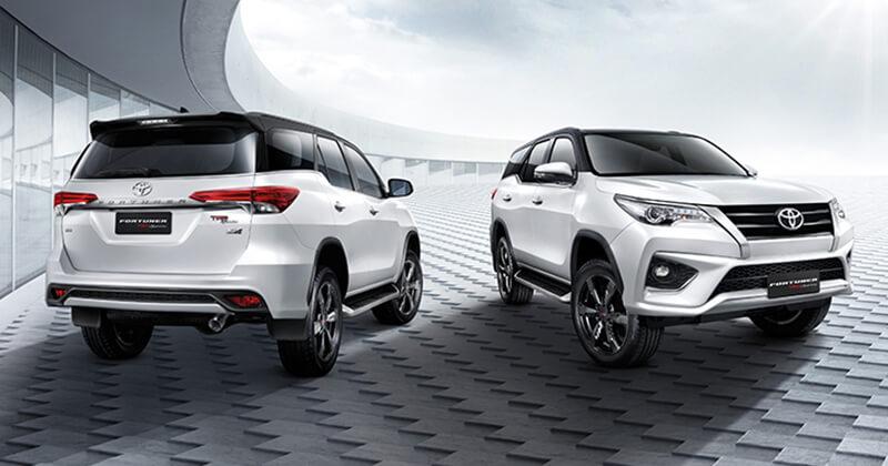 New Toyota Fortuner TRD Sportivo 2 Design