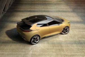 Tata 45X Concept Top View