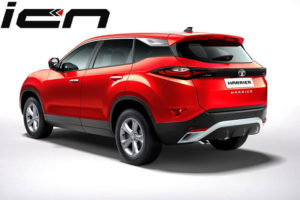 Tata Harrier Red