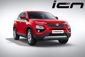 Tata Harrier in Red