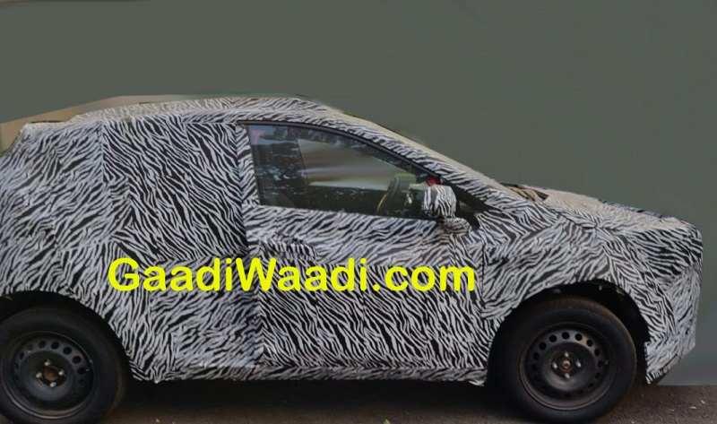 Tata Hornbill SUV Spied