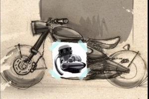 Upcoming Jawa 300 Classic Teased