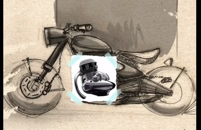 Upcoming Jawa 300 Classic Teased