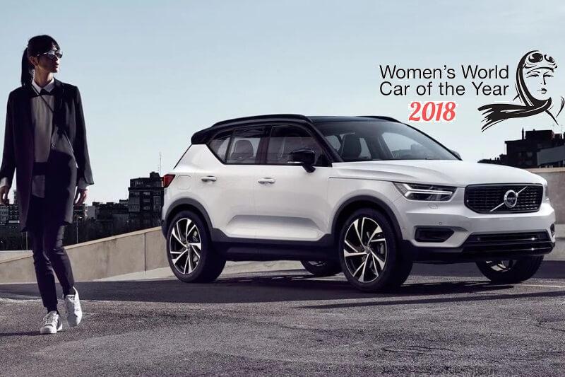 Volvo XC40 Wins Women's World Car of the Year 2018