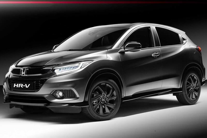 2019 Honda HRV Sport With Black Treatment & 180bhp Engine ...