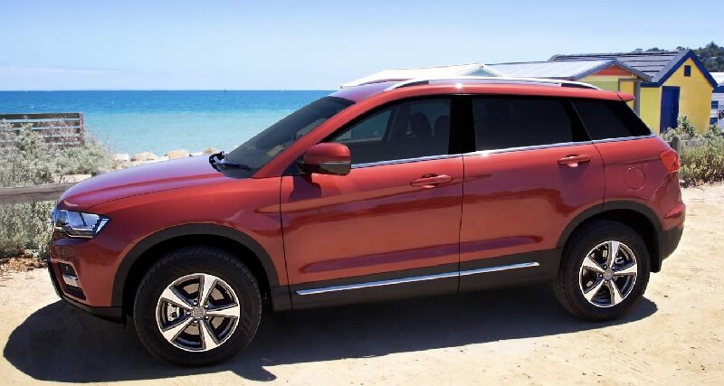 Haval H6 SUV Side India