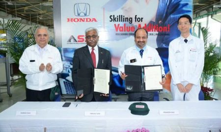 Honda Cars India & ASDC MoU